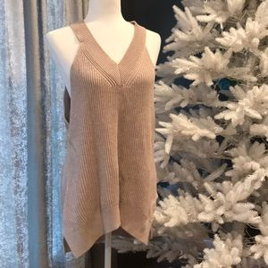 All Saints Sweater Tank! Size Large! Nude Pink